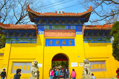Висок Baotong Стоковые Фотографии RF