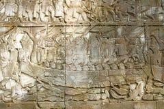 ВИСОК BAYON расположенный в области Angkor Thom в провинции Siem Reap стоковые фотографии rf