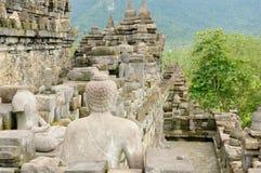 Висок Borobudur буддийский Стоковые Изображения RF