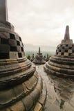 Висок Borobudur Стоковые Фото