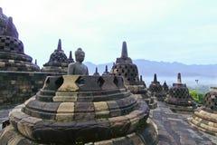 Висок Borobudur Стоковая Фотография