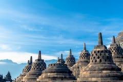 Висок Borobudur, Yogyakarta, Ява, Стоковая Фотография