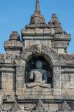 Висок Borobudur Yogyakarta, Java, Индонесия стоковые фотографии rf