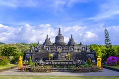 Висок Brahma Vihara Arama буддийский стоковое изображение rf