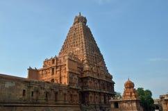 Висок Brihadeeswara, Thanjavur Стоковое Фото