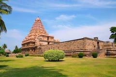 Висок Brihadisvara, Gangaikondacholapuram, Tamil Nadu, Индия Стоковая Фотография RF