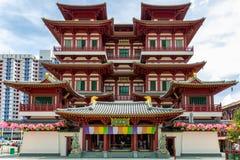 Висок Buddhas в Чайна-тауне, Сингапуре стоковые изображения rf