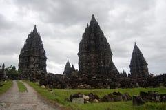Висок buddism Prambanan, Bokoharjo, Jawa, Индонезия стоковое фото