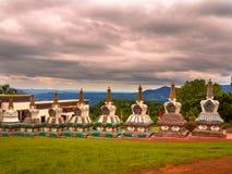 Висок Budhist Стоковое Изображение