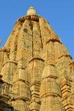 висок carvings индусский Стоковое Изображение