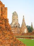 висок chaiwattanaram ayutthaya Стоковая Фотография