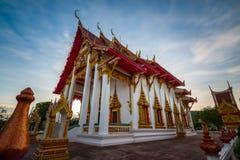 Висок Chalong в Пхукете Таиланде Стоковые Изображения RF