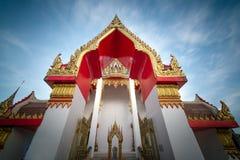 Висок Chalong в Пхукете Таиланде Стоковая Фотография