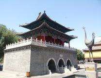 Висок Chenghuang города Китая Changzhi Стоковое Фото