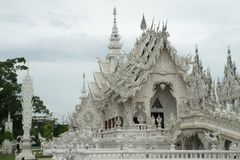 Висок Chiang Rai Wat Rong Khun - 33 Стоковые Изображения RF