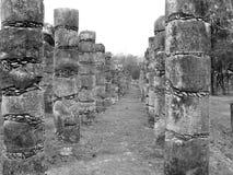 Висок Chichen Itza майяский Стоковое Изображение