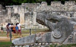 Висок Chichen Itza Мексики Стоковые Изображения RF