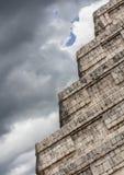 Висок Chichen Itza Мексики Стоковая Фотография RF