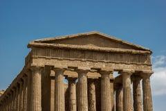 Висок Concordia, Агриджента, Сицилии Стоковые Фотографии RF