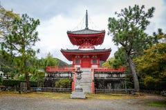 Висок Daikakuji в Киото, Японии Стоковые Изображения RF