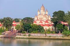Висок Dakshineswar Kali стоковое изображение rf