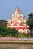 Висок Dakshineswar Kali стоковая фотография rf