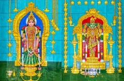 Висок Dhevasthanam Sri Maha Mariamman, Куала-Лумпур, Малайзия Стоковое фото RF