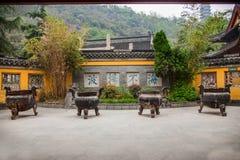 Висок Dinghui горы Zhenjiang Jiao Стоковая Фотография RF