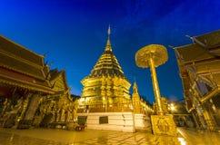 Висок Doi Suthep в Chiengmai, Таиланде Стоковая Фотография