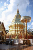 Висок Doi Suthep стоковое фото