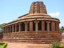 Висок Durga, Aihole, Karnataka, Индия Стоковая Фотография