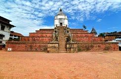 Висок Fasidega индусский, Bhaktapur, Непал Стоковая Фотография RF