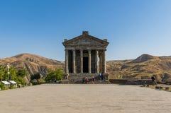 Висок Garni, Армении стоковая фотография