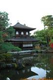 Висок Ginkakuji в Киото Стоковые Изображения