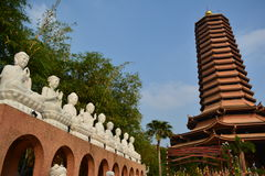 Висок Guan Yin Стоковое фото RF