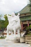 Висок Guanyin Будды около города Danang, Вьетнама Стоковая Фотография