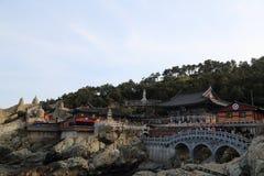 Висок Haedong Yonggung Стоковая Фотография