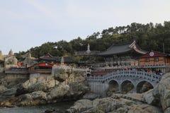 Висок Haedong Yonggung Стоковое фото RF