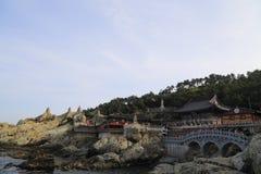 Висок Haedong Yonggung Стоковые Изображения