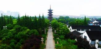 Висок Hanshan Стоковые Фото