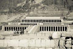 висок hatshepsut Египета Стоковое Изображение