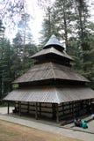 Висок Hidimba Devi стоковая фотография