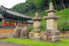Висок Hongjeam, Южная Корея Стоковое фото RF