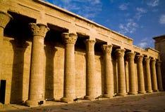 Висок Horus в Edfu стоковая фотография rf