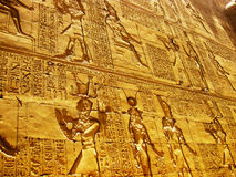 висок horus edfu детали стоковая фотография rf