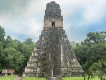 Висок i Tikal, висок большого ягуара в главной площади  Стоковые Изображения