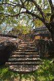 Висок Isurumuniya в Anuradhapura, Шри-Ланке стоковое фото rf