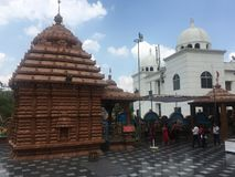 Висок Jagannath в Хайдарабаде, Индии Стоковая Фотография