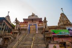 Висок Jagdish Mandir udaipur Индии стоковое изображение rf
