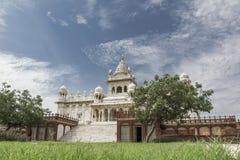 Висок Jaswant Thada, Джодхпур - Индия Стоковая Фотография